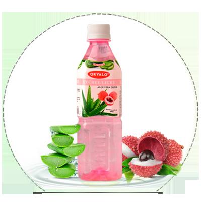 lychee flavor aloe juice