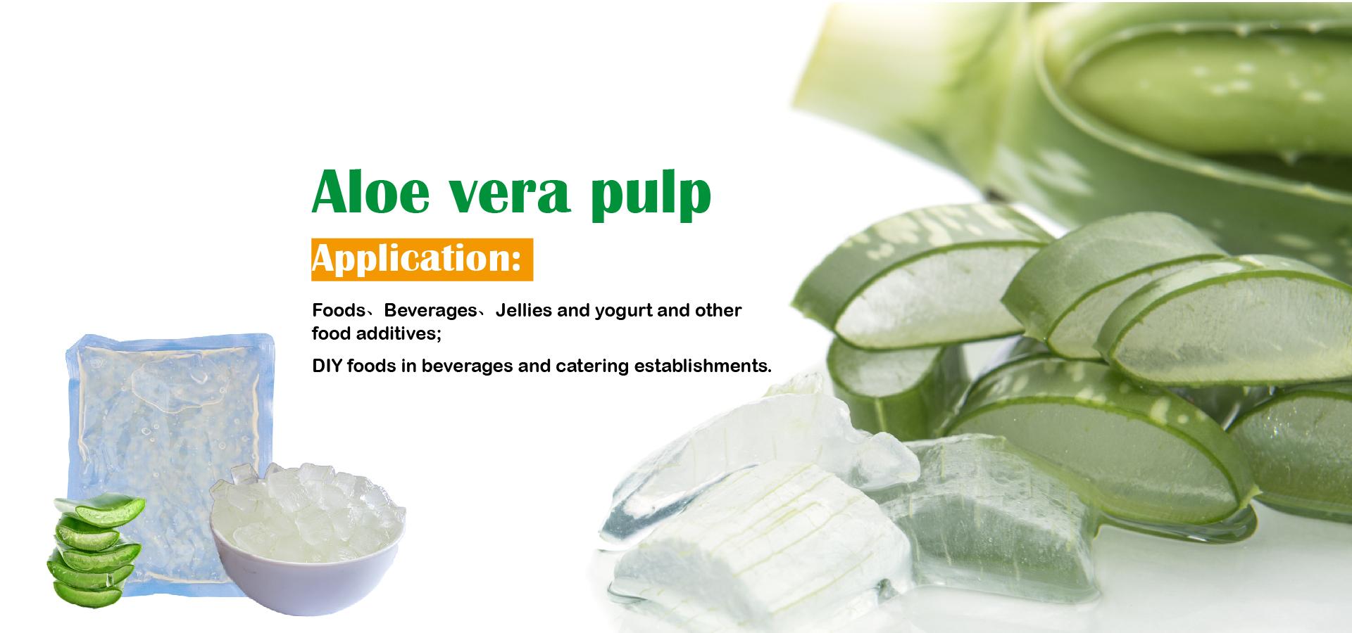 Aloe Vera Pulp Wholesale