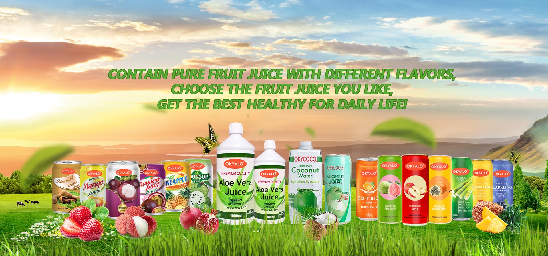 Wholesale Furit Juice