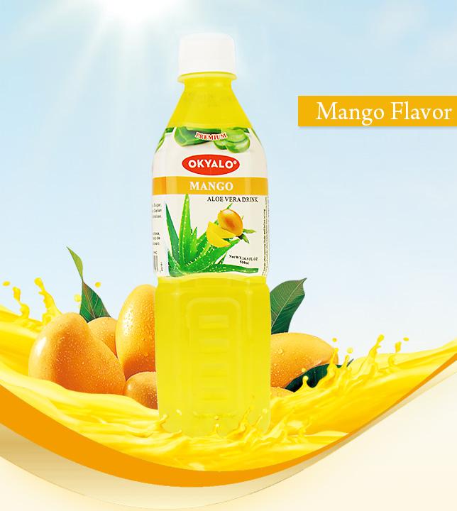 mango aloe drink