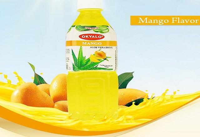 ALOE MANGO DRINK IN 1.5L BOTTLE